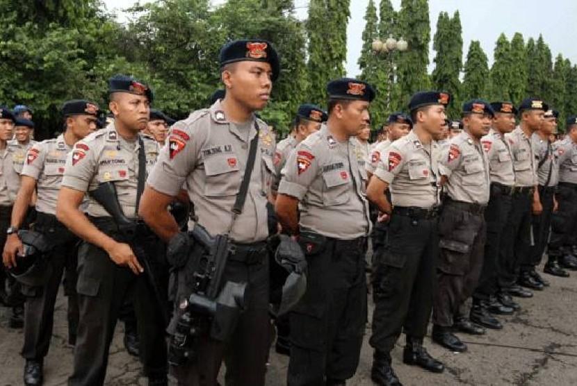 Personel polisi (ilustrasi)
