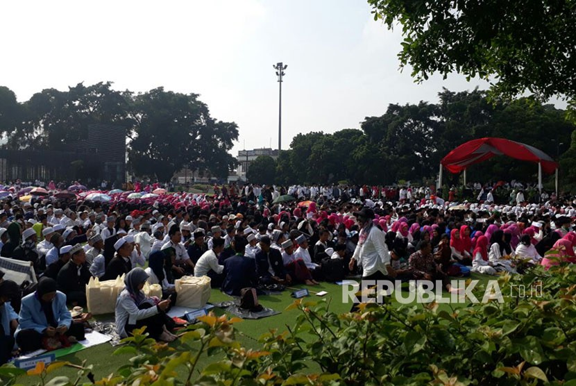 Ribuan Santri memperingati Hari Santri (ilustrasi)