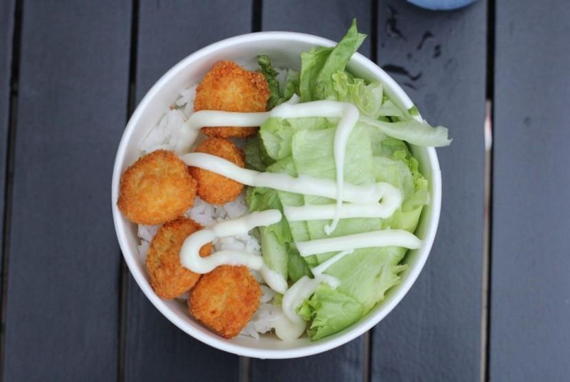Ricebowl ala Kebab Babarafi