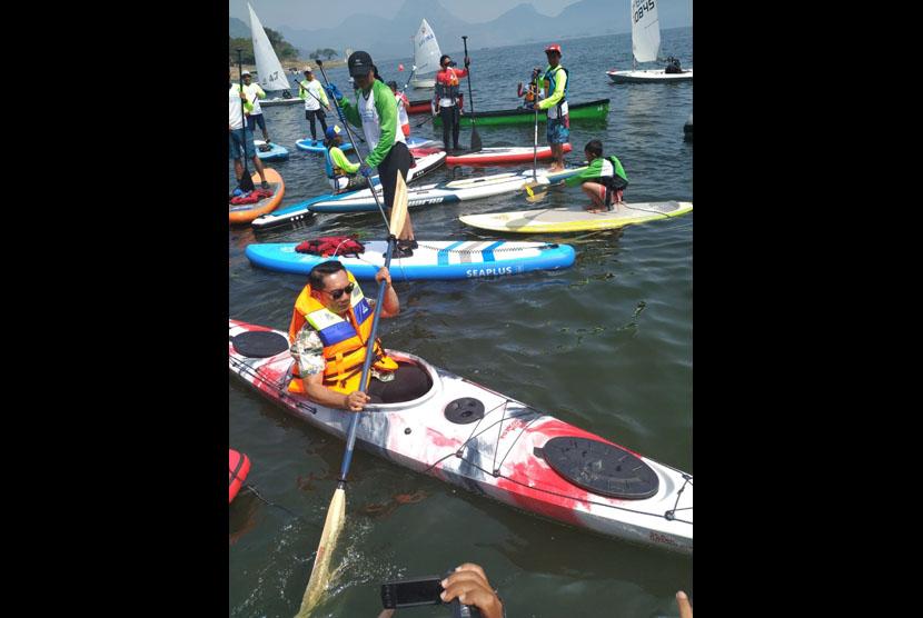 1st Jatiluhur Stand up Paddle and Kayak 2019. (ilustrasi)