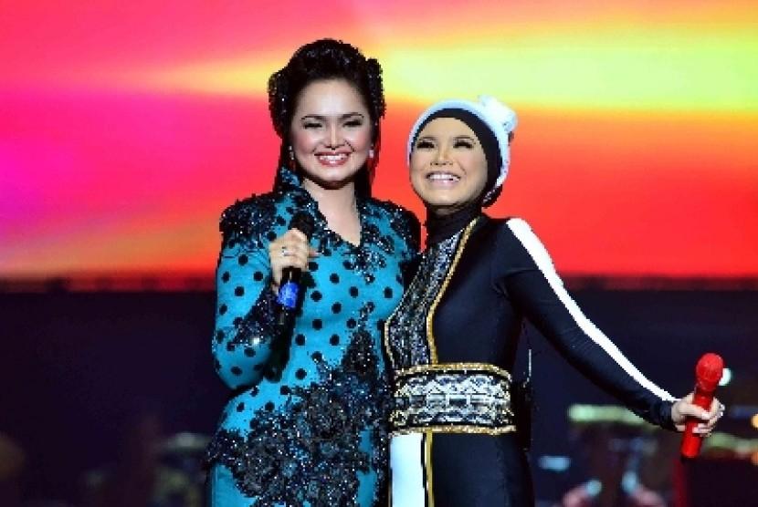 Rossa dan Siti Nurhaliza duet di Ekspresi Karya Gemilang