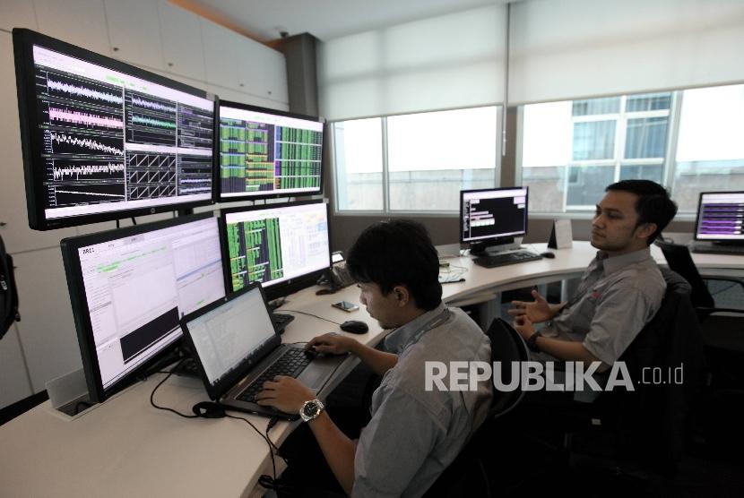 Ruang kendali/pantau satelit BRI