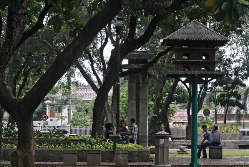 Ruang Terbuka Hijau (ilustrasi).