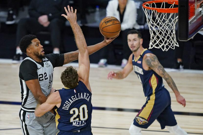 Jegal Pelicans Spurs Menuju Play Off Nba 23 Tahun Beruntun Republika Online