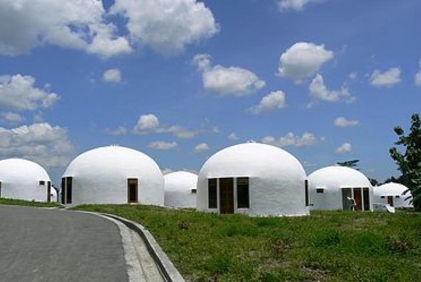 Rumah Domes.