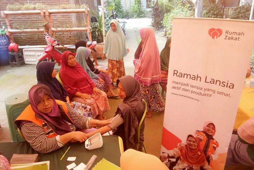 Rumah Lansia Program Rumah Zakat.