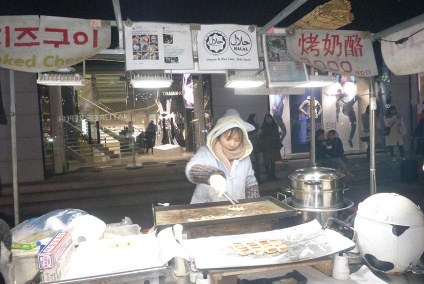 Rumah makan halal di Korea Selatan.