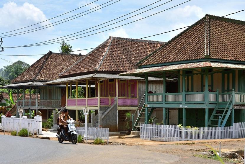 Rumah Panggung Melinting di Desa Wana, kecamatan Melinting, Lampung Timur