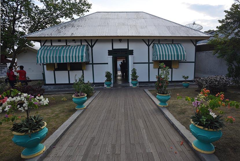 Rumah pengasingan Sukarno di Ende.