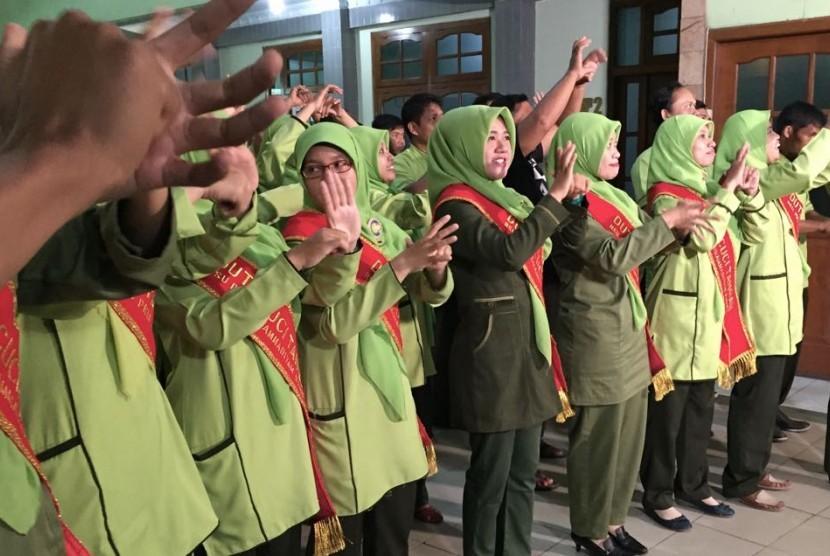 Rumah Sakit Umum Pembina Kesejahteraan Umat (RSU PKU) Muhammadiyah Bantul, DIY pun menggelar kampanye gerakan cuci tangan