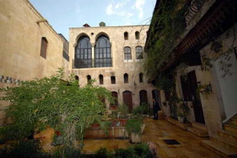 Rumah Tradisional di Suriah