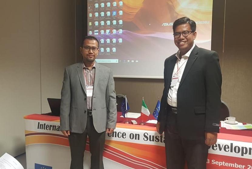 Rumah Zakat hadir di acara 6th International Conference on Sustainable Development 2018 (ICSD) di Roma Eventi, Piazza della Pilotta, 4 Roma, Italia.