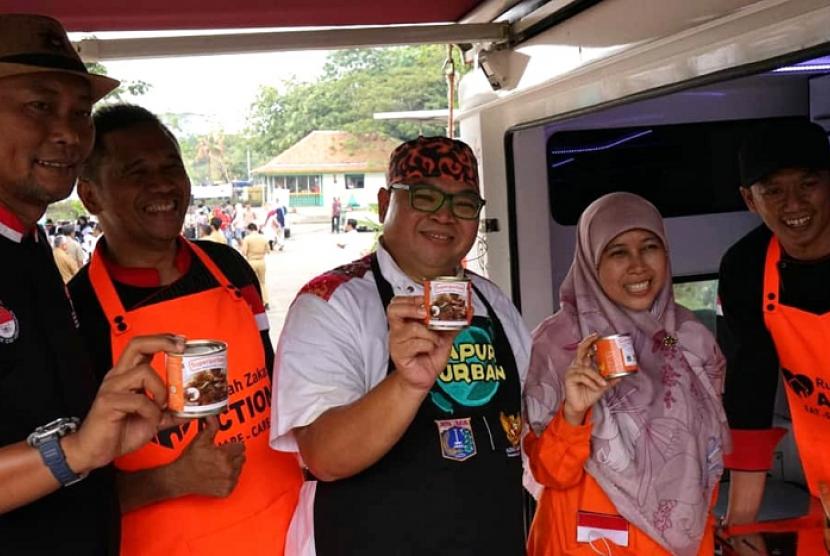 Rumah Zakat jalin sinergi dengan Pemprov DKI Jakarta menggelar Dapur Qurban.