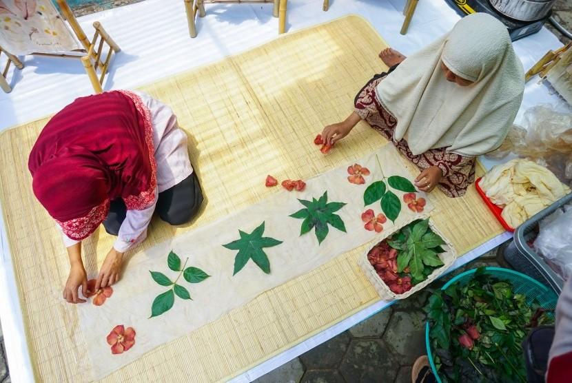 Rumah Zakat membentuk kampung ecoprint.