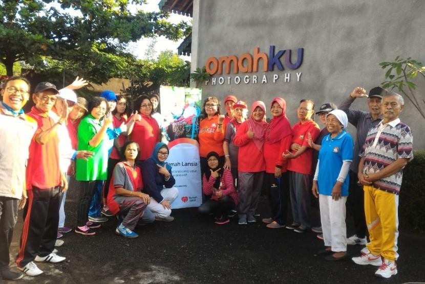 Rumah Zakat mendukung kegiatan ramah lansia.