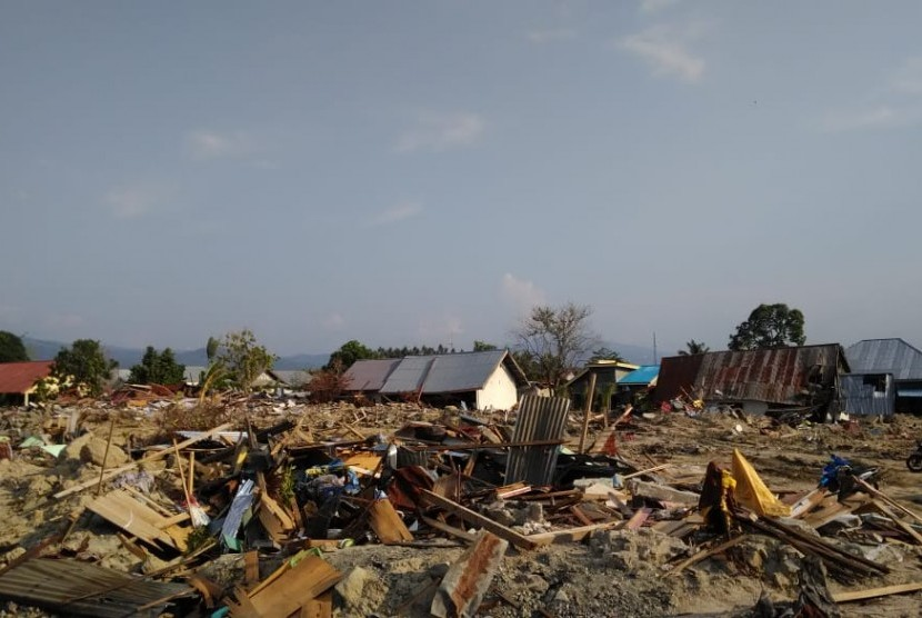Rumah Zakat menelusuri wilayah untuk meratakan distribusi bantuan di Petobo.