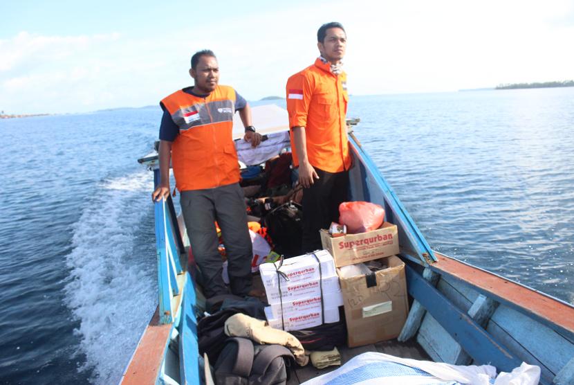 Rumah Zakat menyalurkan Superqurban ke masyarakat perbatasan Aceh.