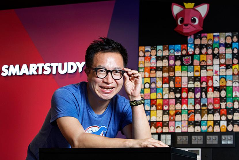 Ryan Syeungkyu Lee, Co-founder SmartStydy yang menggawangi 'Baby Shark'.