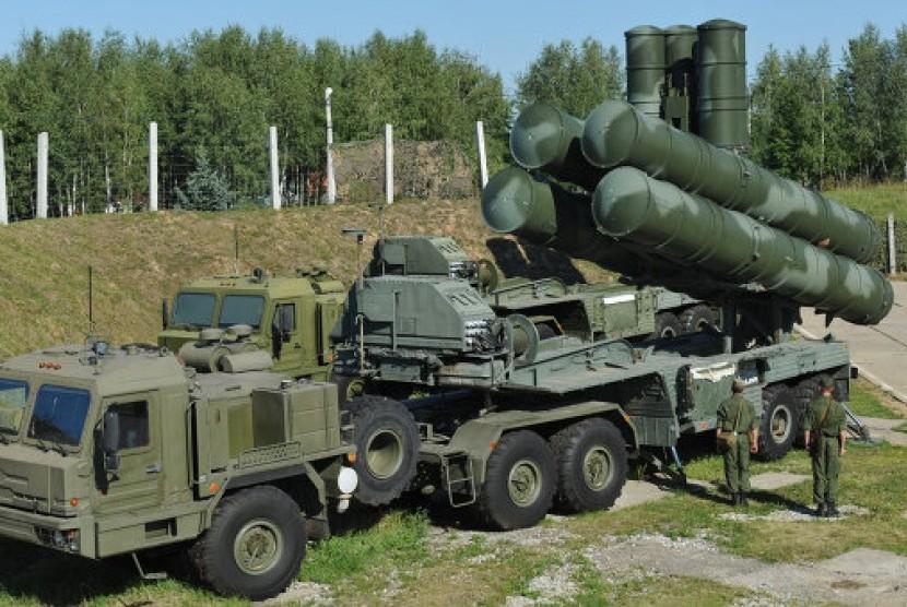 S 400 Rudal jarak jauh andalan Rusia