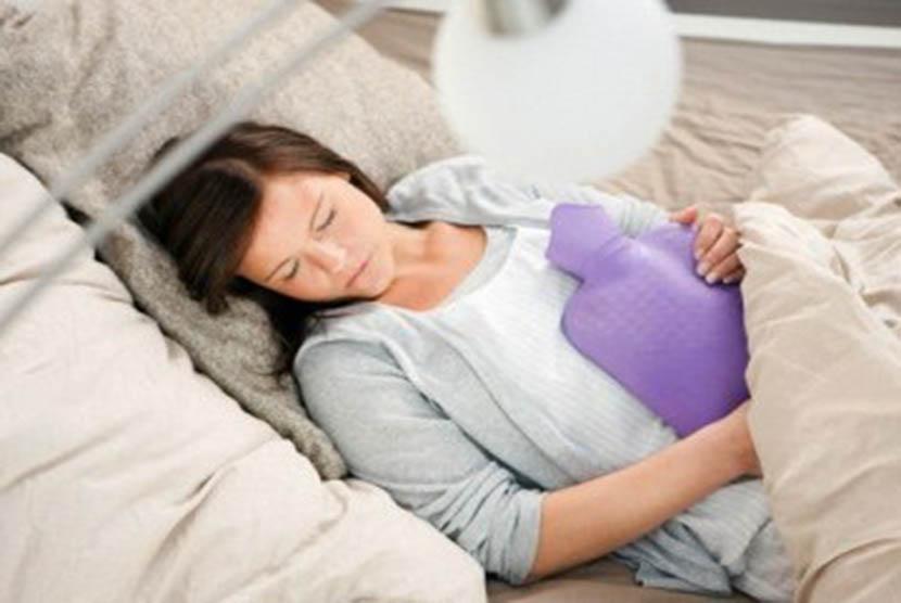 Sakit perut karena menstruasi/Ilustrasi