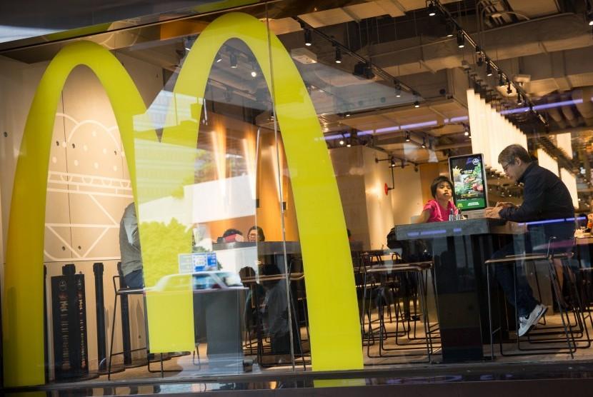 Salah gerai McDonald's di Hong Kong.
