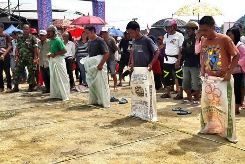 Salah satu acara di Festival Festival Wonderful Indonesia (FWI)