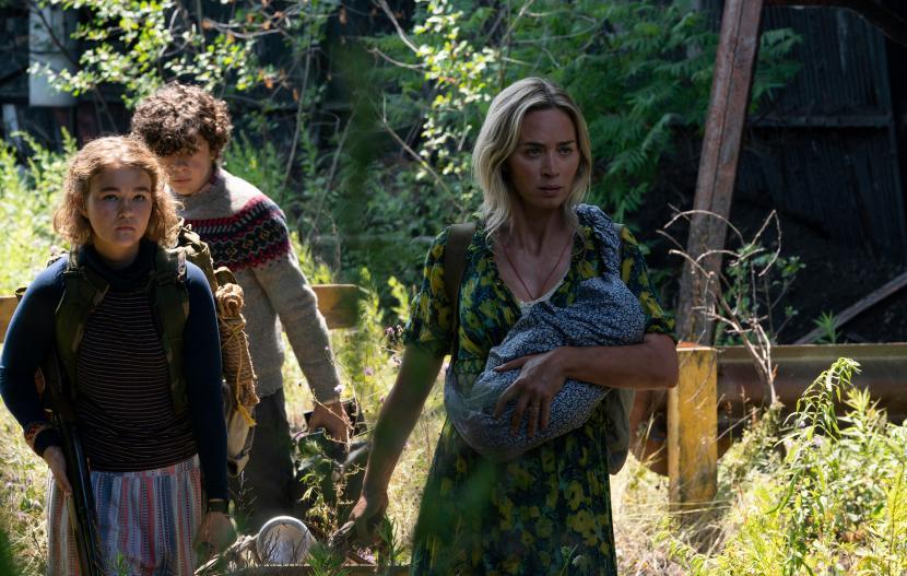Salah satu adegan dalam film A Quit Place: II.