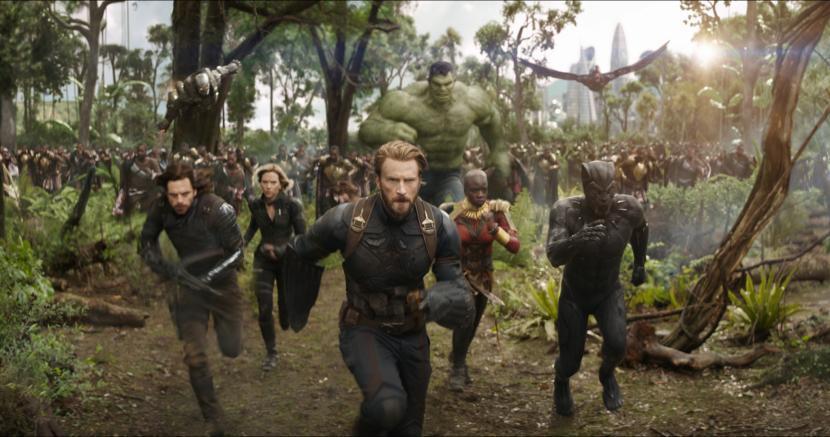 Salah satu film superhero, Avengers Infinity War. mengatakan belum selesai dengan genre superhero, namun Gunn sudah melihat titik akhir.