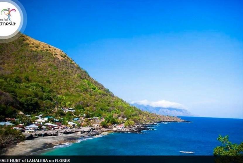 Salah satu bagian keindahan di Kabupaten Lembata, Nusa Tenggara Timur