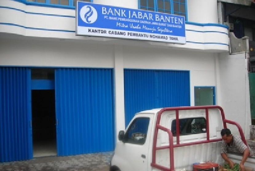 Salah satu cabang Bank Jabar Banten di pelosok pedesaan
