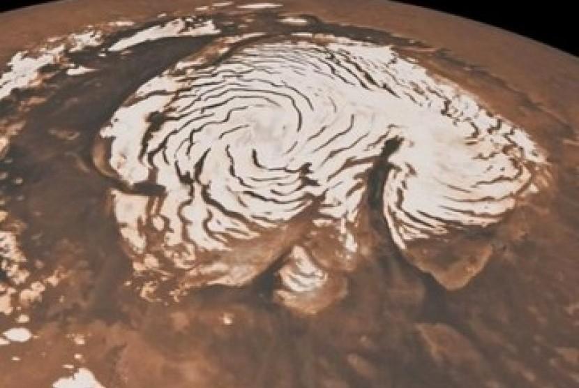 Salah satu foto Planet Mars