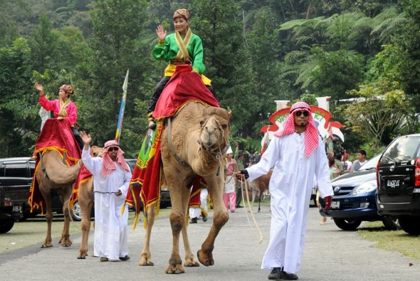 Salah satu hewan di Taman Safari Indonesia Cisarua.