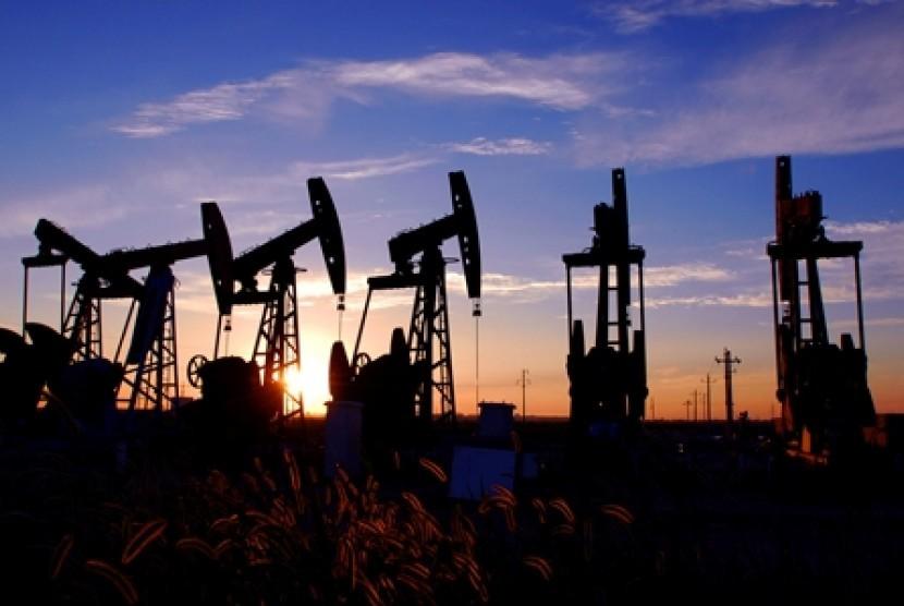 Ladang minyak. (ilustrasi)