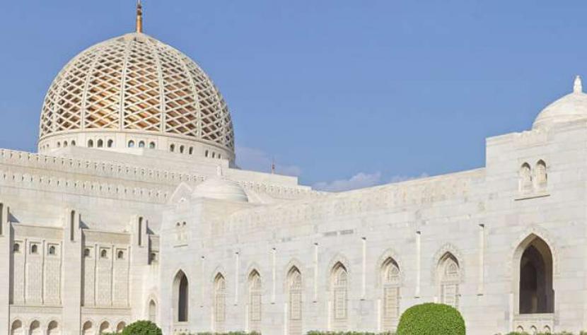 Salah satu masjid di Kota Oman. Mulai Jumat (24/9) nanti, masjiddi Oman kembali dibuka untuk jamaah melaksanaka Shalat Jumat.