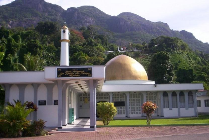 Salah satu masjid di Seychelles.