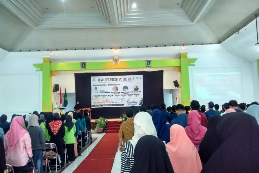Salah satu mata kegiatan Temilreg FoSSEI Jawa Tengah.