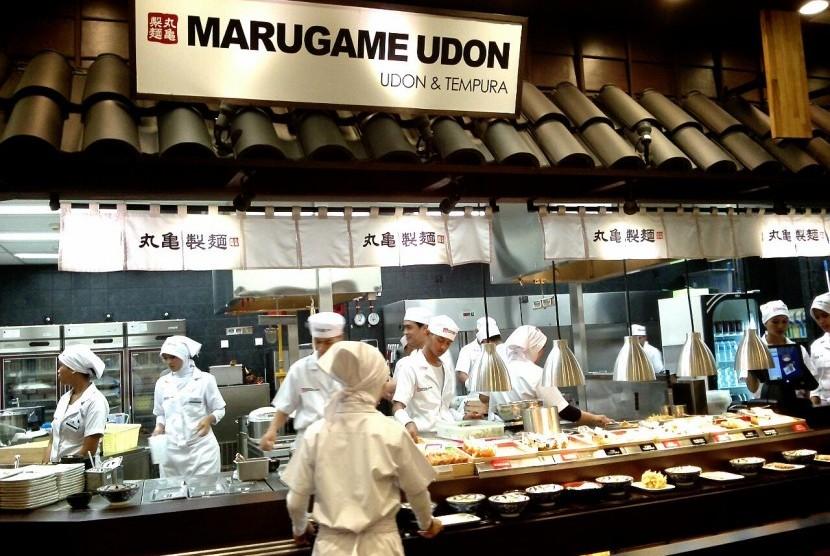 Salah satu outlet Marugame Udon