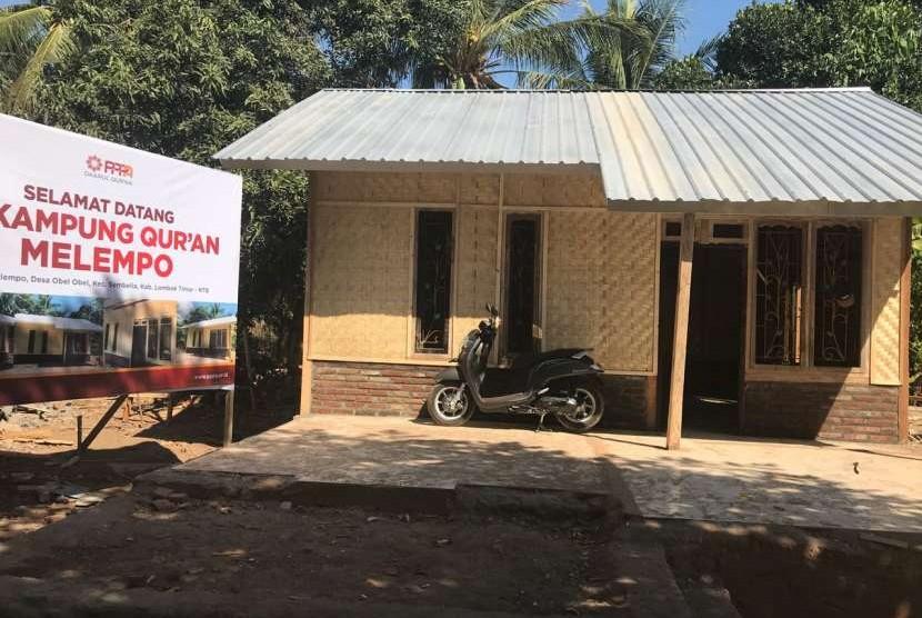 Salah satu pendekatan dalam program Kampung Quran ini adalah pembangunan rumah daur ulang atau recycle house.