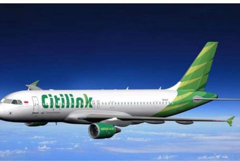 Salah satu pesawat Citilink.