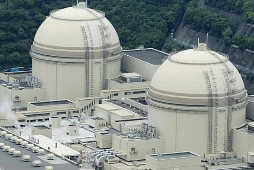 Salah satu reaktor nuklir di Korea Selatan