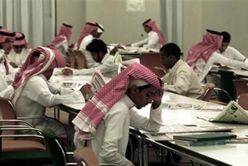 Salah satu ruang belajar di Universitas Islam Al-Madinah (Ilustrasi)