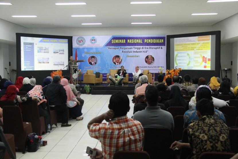 Salah satu seminar nasional yang diadakan oleh BSI.