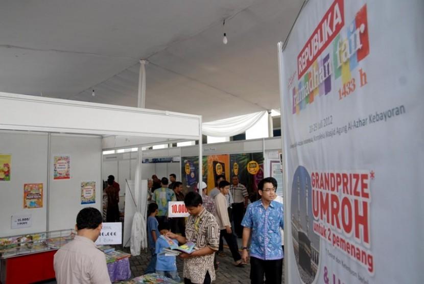Salah satu stand di Republika Ramadhan Fair 2012