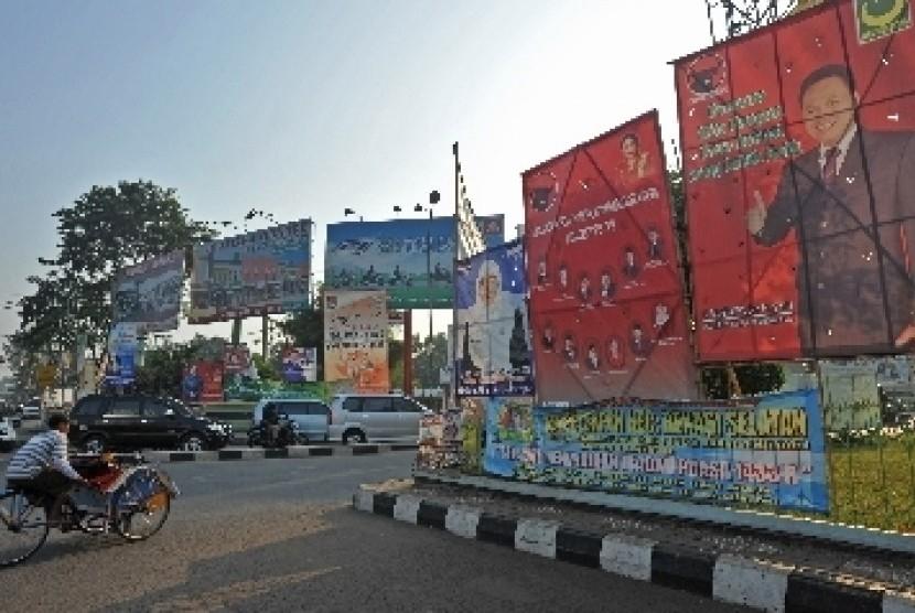 Salah satu sudut Kota Bekasi, Jawa Barat.