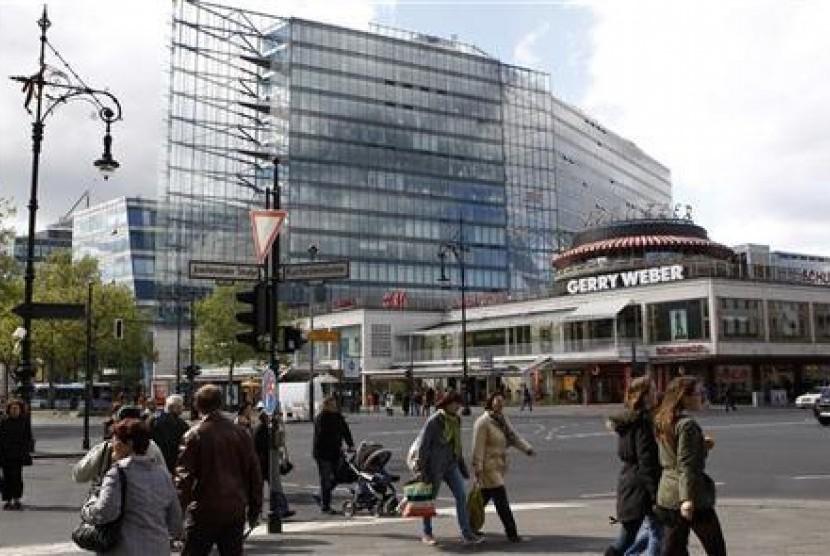 Salah satu sudut Kota Berlin, Jerman.