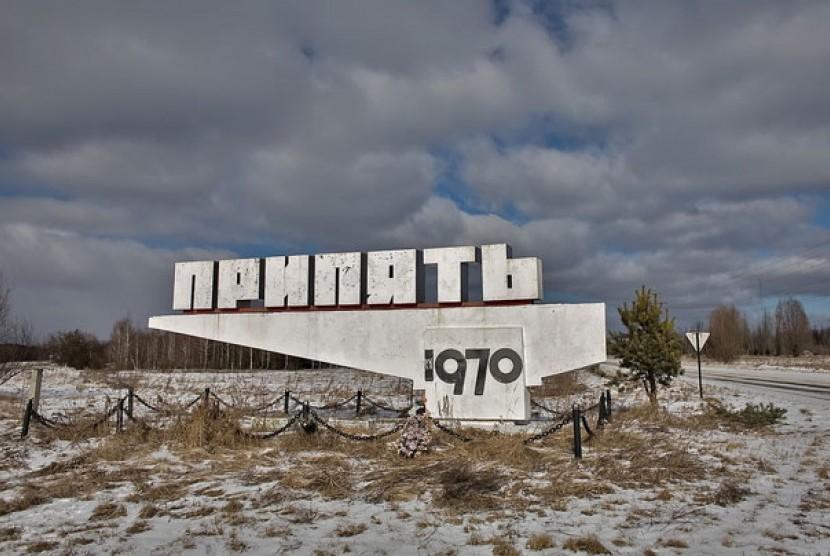 Salah satu sudut Kota Chernobyl