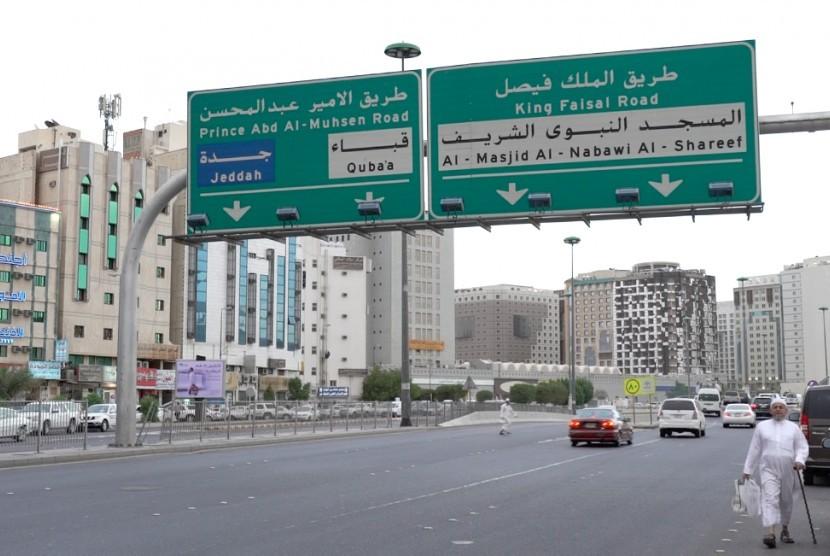 Salah satu sudut kota Madinah (ilustrasi).