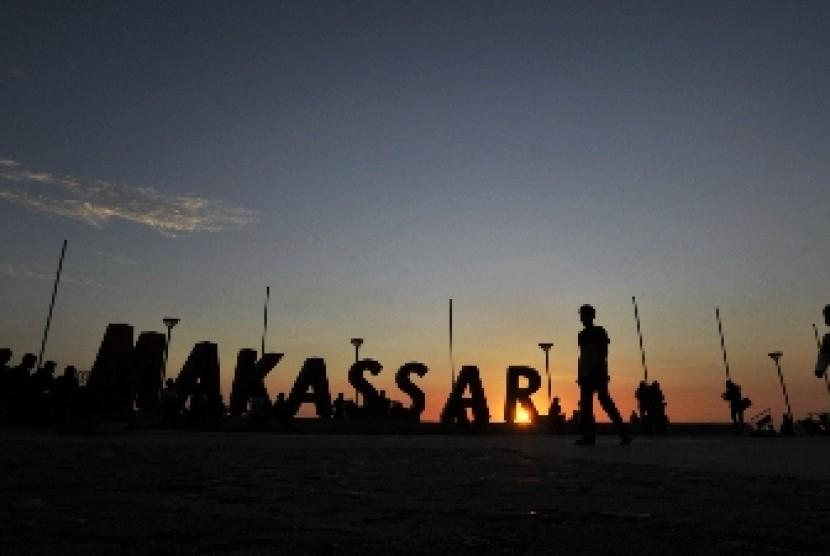 Salah satu sudut Kota Makassar.