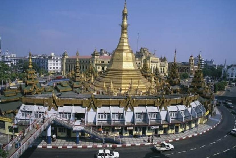 Gambar Negara Myanmar Myanmar Beri Visa Kedatangan Ke Pengunjung Dari 22 Negara Republika Online