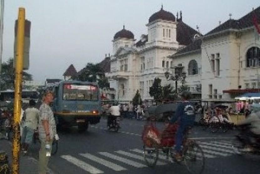 Salah satu sudut Kota Yogyakarta (ilustrasi).